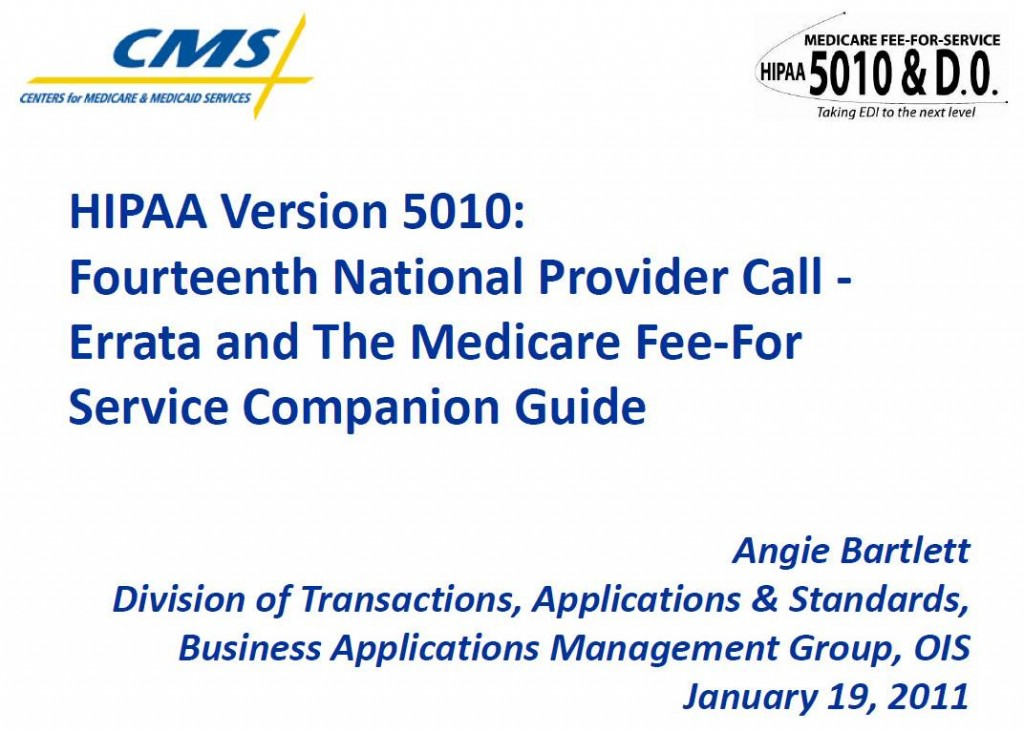 CMS 14th National Provider Call