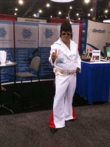 Elvis at MGMA 2011