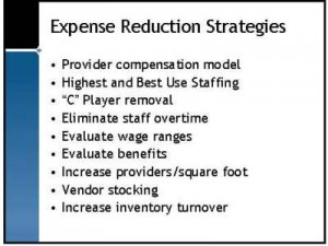 Expense Reduction Strategies - Halley