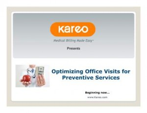 During a highly informative webinar entitled Optimizing Office Visits for Preventive Services, coding expert and author Betsy Nicoletti, M.S., CPC offered concise tips and guidelines for coding and billing the various types of office visits