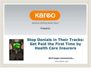 Expert Betsy Nicoletti advised in this complimentary Kareo webinar that by setting up a process to measure, quantify and fix the reasons for denials, practices can significantly improve their collections and cash flow—and their bottom line.