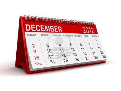 December Calendar 2012