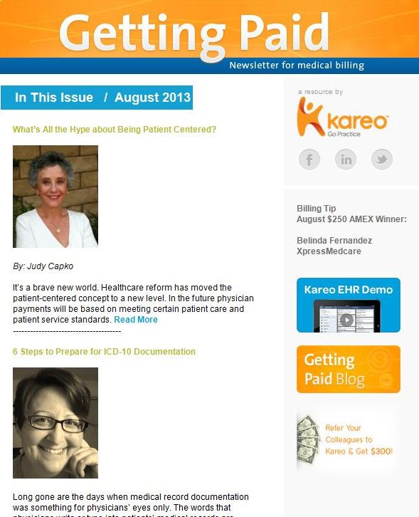 Practice management and medical billing tips from Kareo