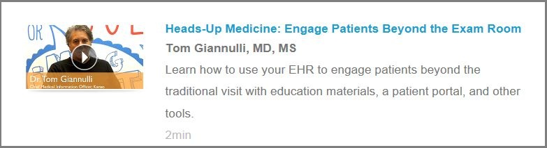 Tom Gianulli talks about EHR and heads-up medicine for Kareo