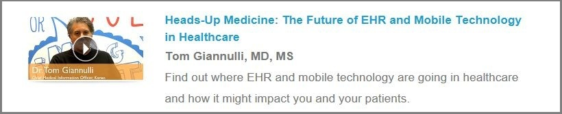Tom Giannulli talks about the future of EHR for Kareo