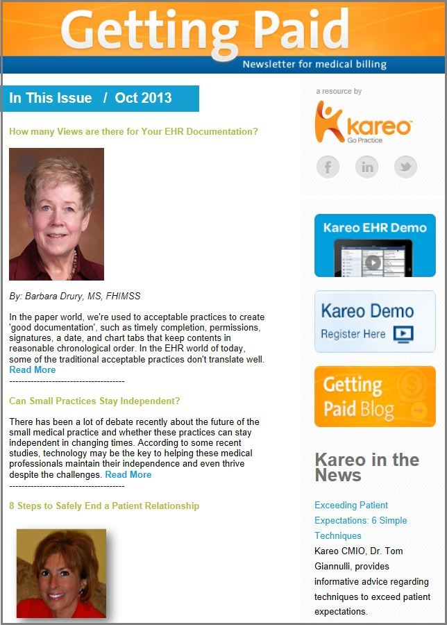 Medical billing tips from Kareo