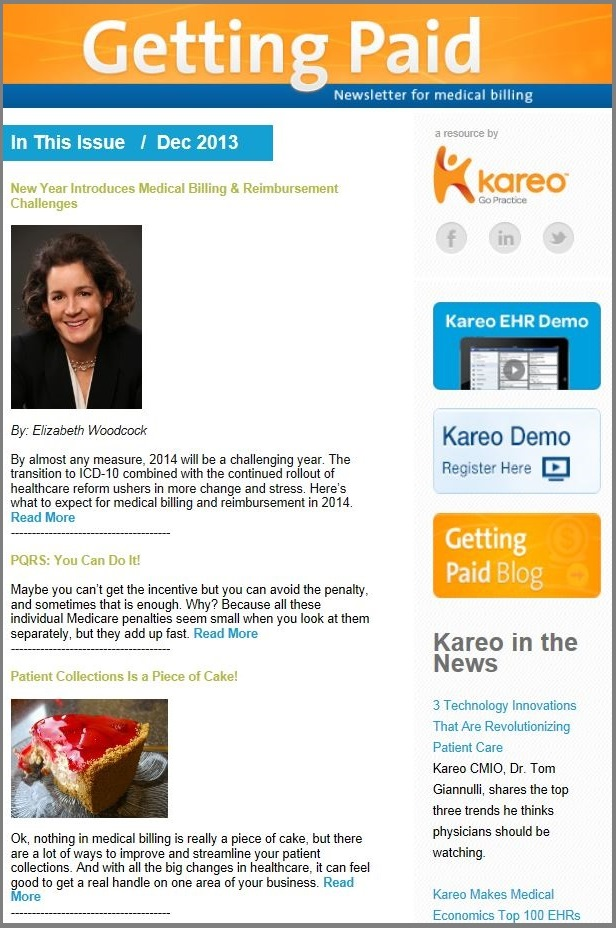 Kareo medical billing tips
