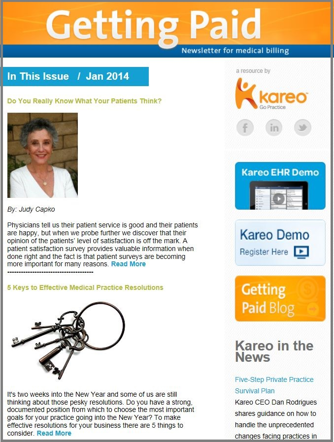 Get medical billing tips from Kareo