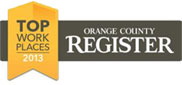 OC Register Top Workplaces Award