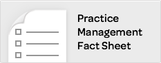Practice Management Fact Sheet