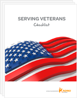 Serving Veterans Checklist