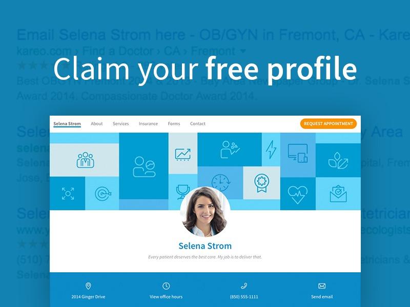 Claim Free Profile